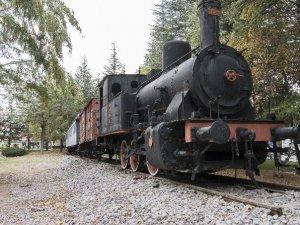 "Nostaljik Tren ""Tren Kafe"" Olarak Hizmet Verecek"
