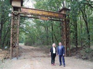 İğneada Longoz Ormanları Milli Parkı'na Giriş Takları