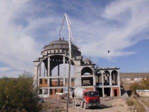 Çıldır'ın Yeni Cami İnşaatı Yükseliyor