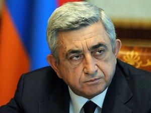 """Sarkisyan: """"Aliyev İle Görüşmeye Hazırım"""""""