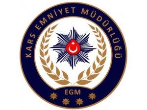 Kars'ta Operasyon: 8 Gözaltı