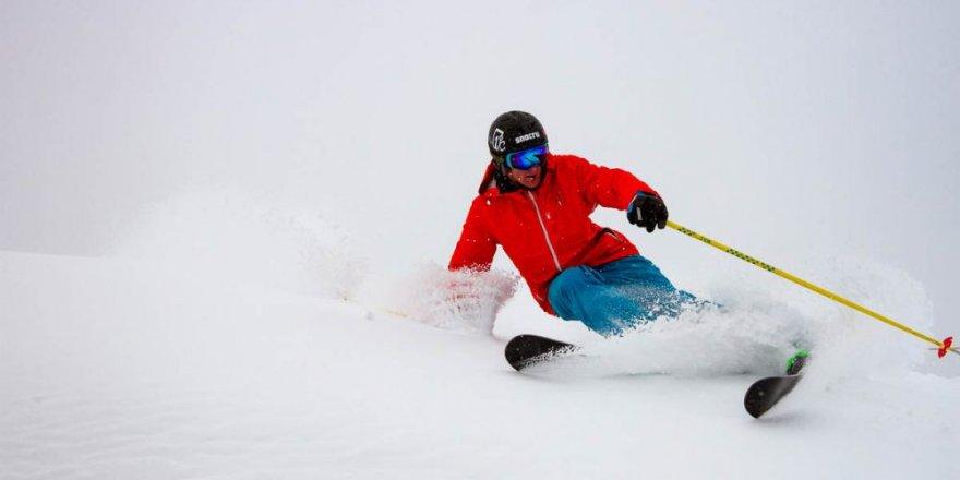 Sarıkamış'ta 'Alp Disiplini Kayak Yarışları'