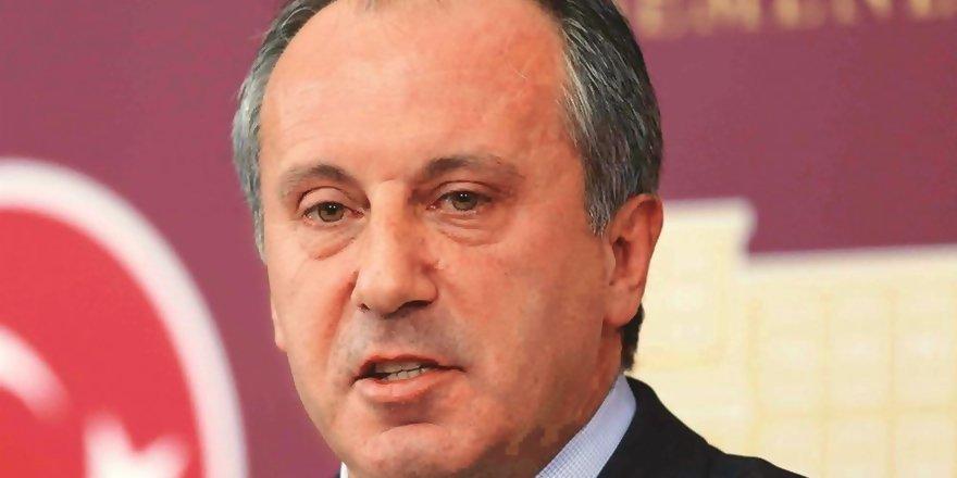 İnce, CHP'nin Cumhurbaşkanı Adayı