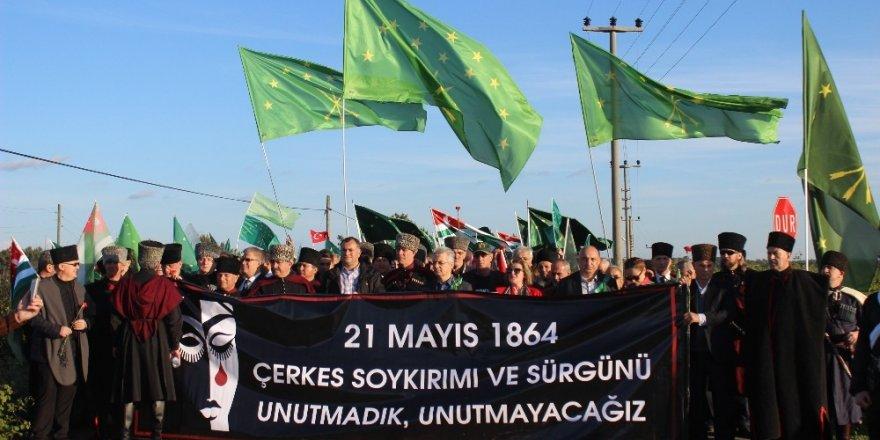 'Çerkes Sürgünü'nde Ölenler Anıldı