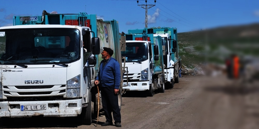 Kars'ta Çöp İsyanı