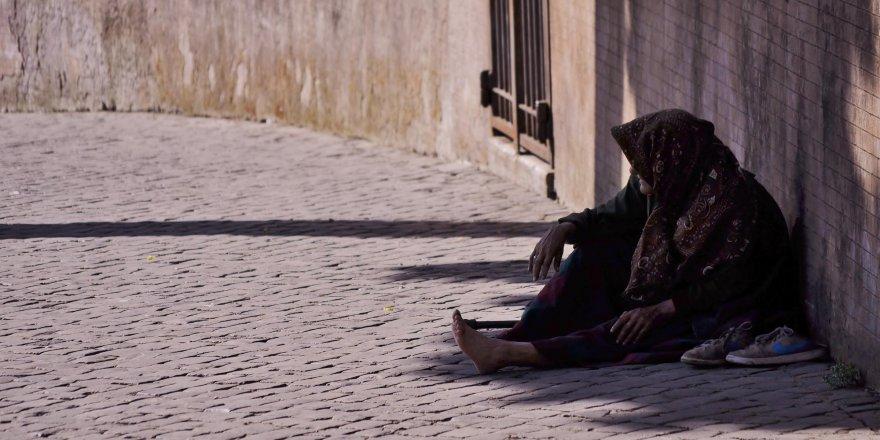 Sarıkamış'ta Suriyeli Dilenciler