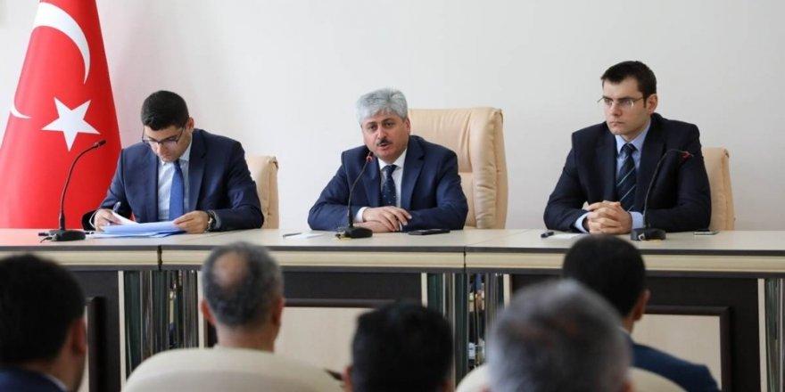 Kars'ta 'Seçim Güvenlik' Toplantısı