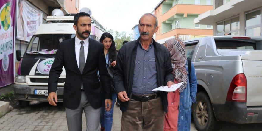 HDP'li Bişar Alınak'ın Seçim Çalışmaları