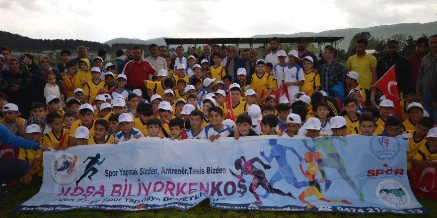 Sarıkamış'ta 'Yaz Spor Okulları' Açıldı