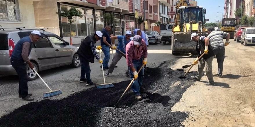Kars Belediyesi 'Yama' Çalışması Başlattı