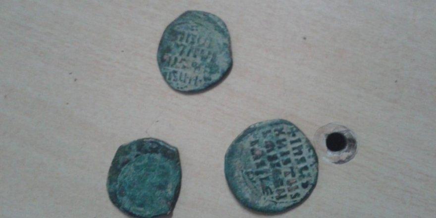 Bizans Dönemine Ait Sikke Bulundu