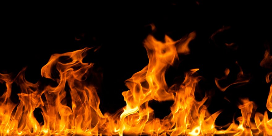 Kağızman'da Korkutan Yangın