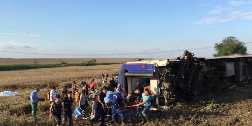 Tekirdağ'da Tren Kazası