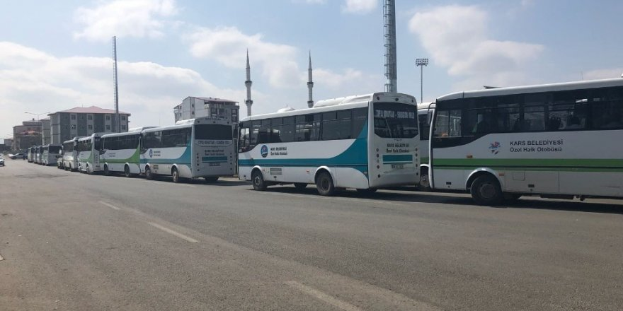 Kars'ta 'Toplu Taşıma' Krizi