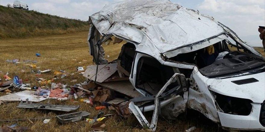 Selim'de Trafik Kazası: 1 Ölü