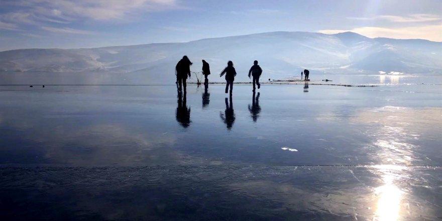 Çıldır Gölü'nde Dalış Yaptılar