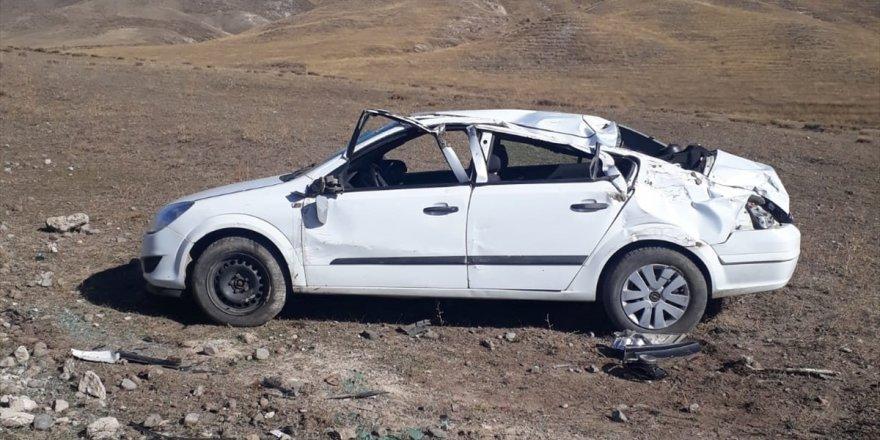 Kars'ta Trafik Kazası: 6 Yaralı