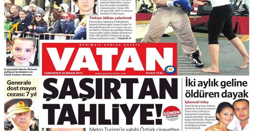 Vatan Gazetesi Kapanıyor!