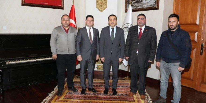 KKDGC'den Vali Türker Öksüz'e Ziyaret