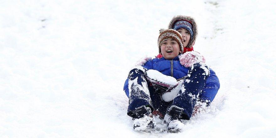 Ağrı ve Artvin'de Kar Tatili