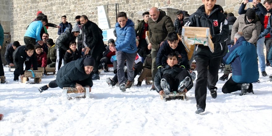 Erzurum'da 'Geleneksel Kızak Şenliği'