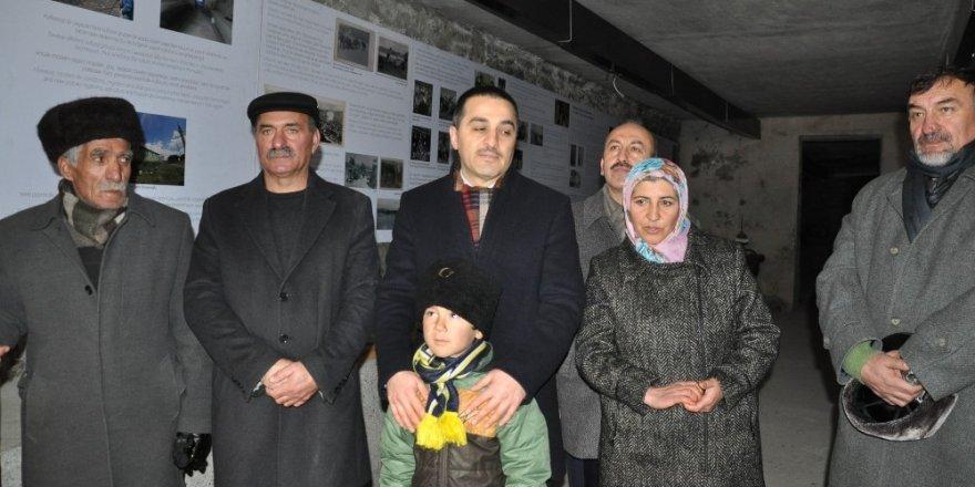 Vali Öksüz, Boğatepe'yi Ziyaret Etti
