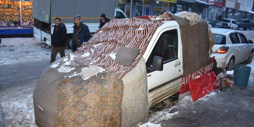 Araçlara Battaniyeli ve Halılı Koruma