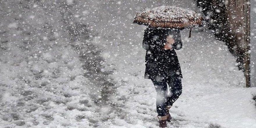 Ardahan'da Kar Yağışı