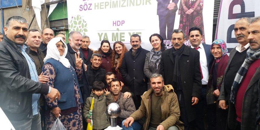 HDP'nin Digor Seçim Bürosu Açıldı