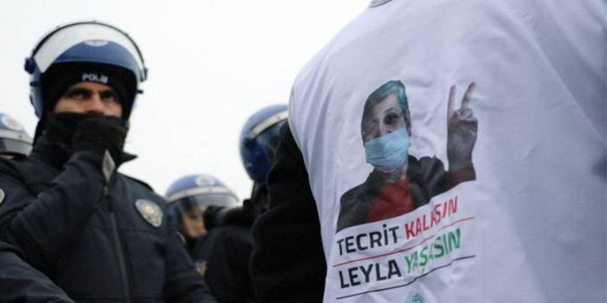 Leyla Güven'in Açlık Grevi 102'nci Gününde