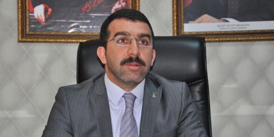 AK Parti İl Başkanı Adem Çalkın, Sarıkamış'ta