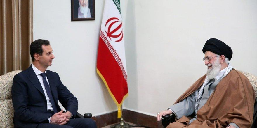 Esad, Ruhani ve Hamaney ile Görüştü