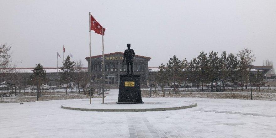 Kars'ta Kar Yağışı ve Tipi