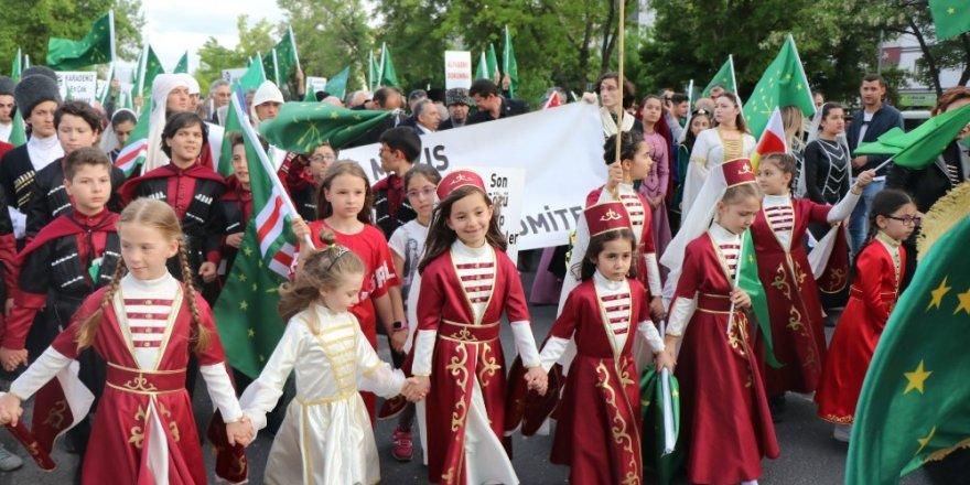 'Çerkes Sürgünü ve Soykırımı'nın 155. Yılı