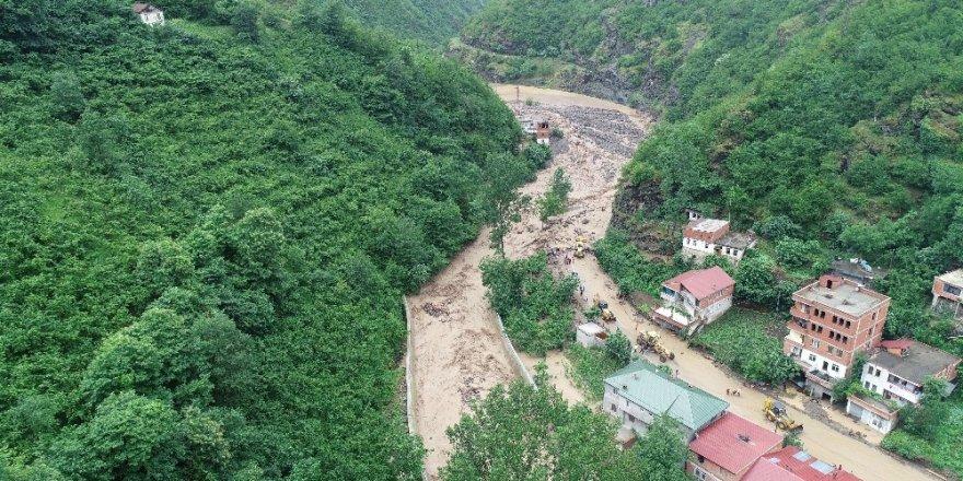 Trabzon'un Araklı'da HES Faciası
