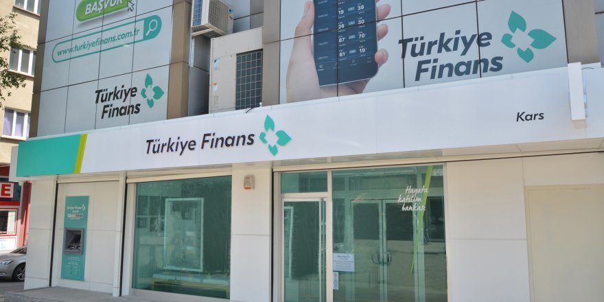 Türkiye Finans Kars'ta Şube Açtı