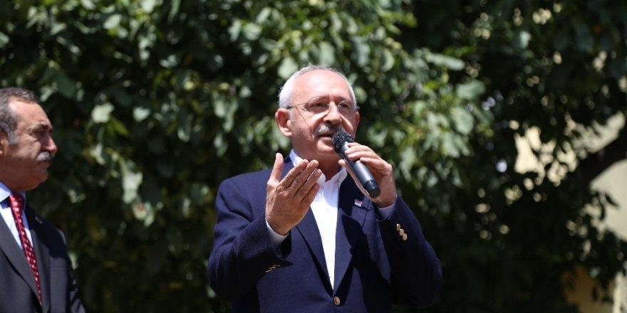 Kemal Kılıçdaroğlu Şavşat'ta