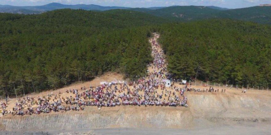 Binlerce Kişi Kaz Dağları İçin Yürüdü
