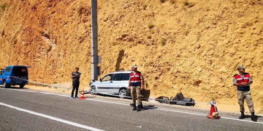 Artvin'de Trafik Kazası: 1 Ölü, 3 Yaralı