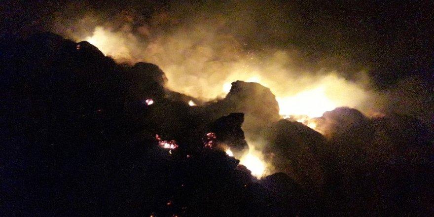 'Kale Eteğinde'ki Yangın Korkuttu