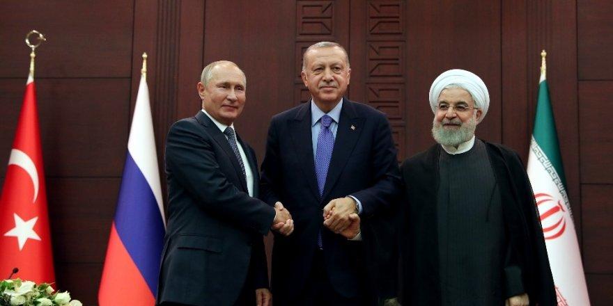 Ankara'da Üçlü Liderler Zirvesi