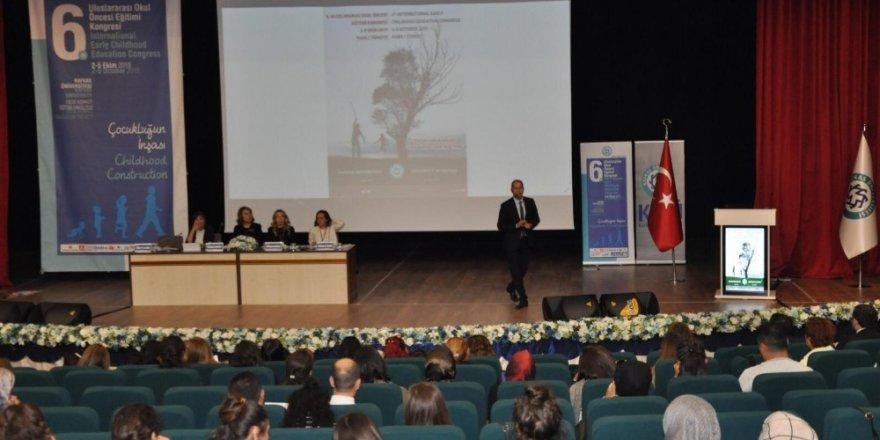 KAÜ'de 'Okul Öncesi Eğitim' Kongresi