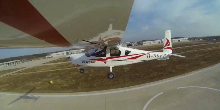 Çin'in 'Elektrikli Uçağı' Uçtu