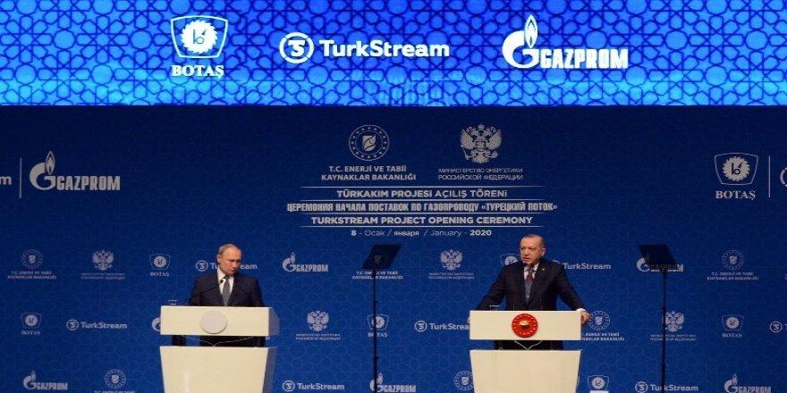 Erdoğan ve Putin'den Sağduyu Çağrısı