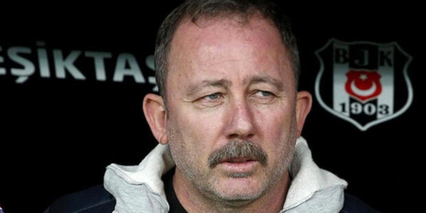 Beşiktaş, Sergen Yalçın'ı TFF'ye Bildirdi