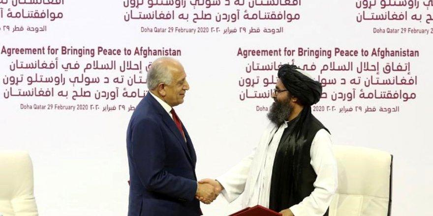 ABD ile Taliban Arasında Barış Anlaşması