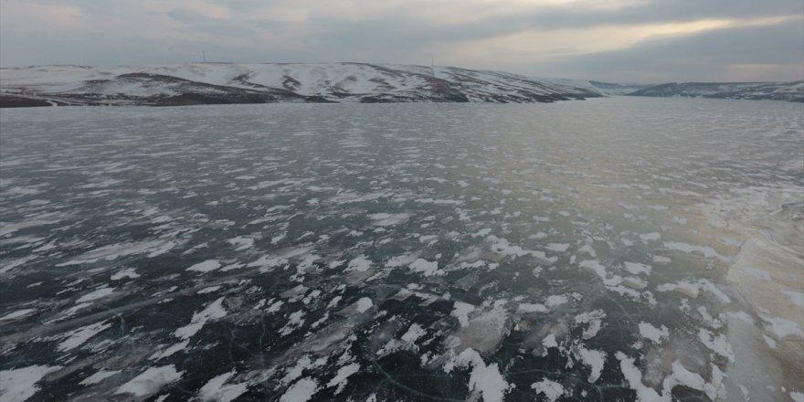 Buzla Kaplanan 'Kars Baraj Gölü'