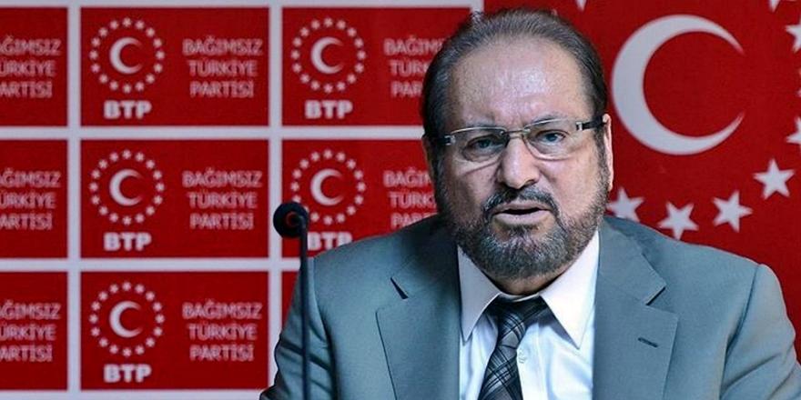 BTP Lideri Haydar Baş Covid-19'dan Hayatını Kaybetti