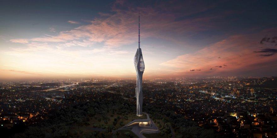 Erdoğan Çamlıca Kulesi'ni İnceledi