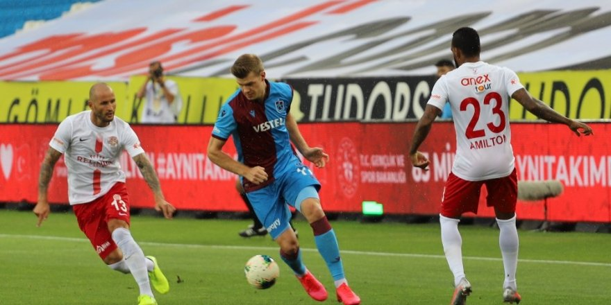 Trabzonspor'a Şampiyonluk Yolunda Darbe